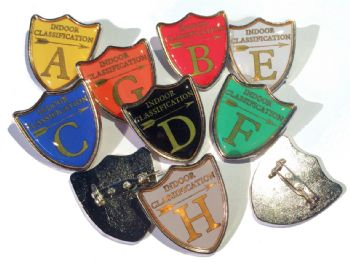 Indoor Classification shield badge